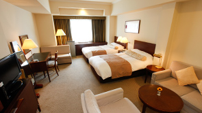 Deluxe room with 2 semi-double beds