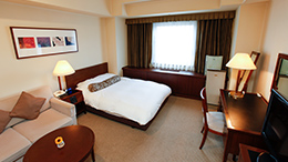 Standard room with 1 semi-double bed